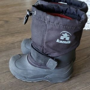 B1G1❄Boys KAMIK black winter boots